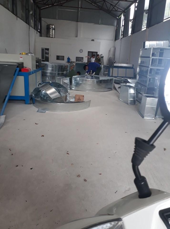sản xuất ống gió tại Hải Anh